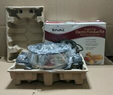 Rival Stainless Steel Electric Fondue Pot Set - model FD325-S - BRAND NEW