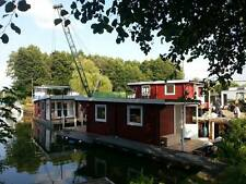 Hausbootbausatz, Selbstbau-Apartment in Einzelteile im Hafen Nahmitz