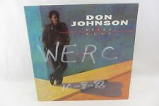 LP Record - DON JOHNSON Heartbeat, OE-40366, promo radio VG++