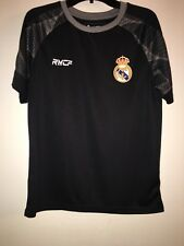 Nwot Official Real Madrid Black #7 Ronaldo  Jersey Youth Large