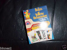 THE BEATLES YELLOW SUBMARINE OFFICIAL SUBAFILMS PLAYING CARDS SEALED PACK MINT !