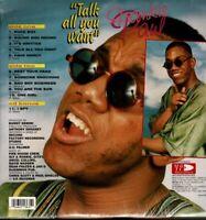 FRANKIE PAUL-Talk All You Want Vinyl LP-Brand New-Still Sealed