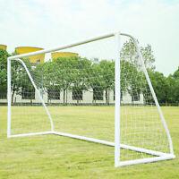 ORIENTOOLS Football Goal PVC for Garden Outdoor Backyard Home Weatherproof