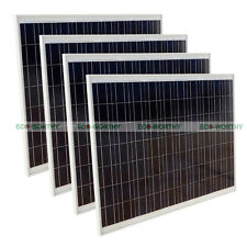 4*250W 1KW 24V High Efficiency Solar Pane for Home Boat Caravan Camp RV Industry