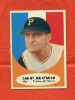 1961 Topps #138  Danny Murtaugh -- Pirates (NM)