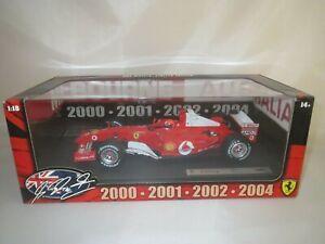Rarity! Ferrari F 2004 M.SCHUMACHER Diecast Model Car