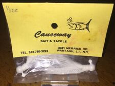 2 Causeway Bait & Tackle 1/8 Oz Buck Tail Lures New In Package Wantagjh, L.I.