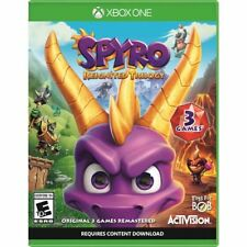 Spyro Reignited Trilogy Xbox One NEW  + SEALED! FAST FREE SHIPPING!!!