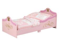Rosa Kinder-Bettgestelle ohne Matratze aus matt lackierten MDF -/Spanplatten zum Zusammenbauen