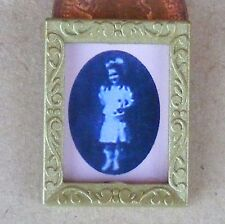 1:12 Scale Victorian Grand Daughter Picture In A Frame Dolls House Painting