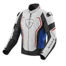 Giacca moto Rev'it Revit Vertex TL bianco rosso blu XL white red blue jacket
