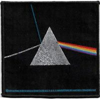Official Licensed Merch Woven Sew-on PATCH Rock PINK FLOYD Dark Side of the Moon