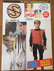 CAPTAIN SCARLET COMIC #1 1994 MINT FIRST ISSUE + POSTER OFFICIAL MAGAZINE