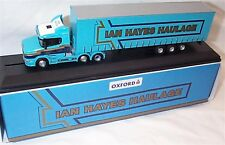 Scania T Cab & Curtainside Ian hayes haulage 1:76 Scale new in box 76TCAB009