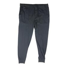 J. Crew F9168 Men's Size L Slim Jersey Pajama Pant Joggers 100% Cotton Black
