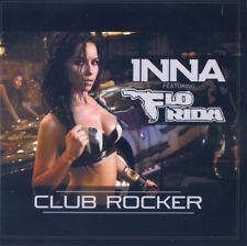 "Inna Feat Flo Rida ""Club Rocker"" REMIXES Cd Promo Test Pressing FRANCE + RARE +"