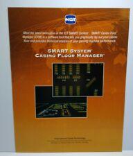IGT Slot Machine FLYER Smart System Casino Floor Manager Advertising Sheet