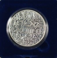 1984 Israel 2 Sheqalim Brotherhoood Silver Proof Coin with Case & COA