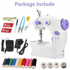 33pcs Portable Hand Held Sewing Machine Electric Mini Desktop Stitch Clothes Kit