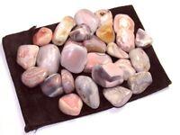 1/2 lb Lot Tumbled Pink Botswana Zentron™ Crystals