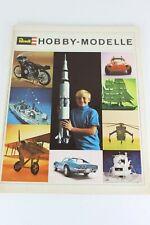 Revell Hobby-modelle 1969 Catalogue Catalog Katalog Catalogo