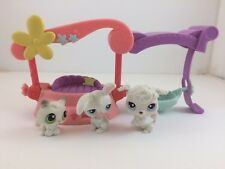Littlest Pet Shop *Authentic* Fancy Friends Small Playset - 3 Pets w/ Accessory