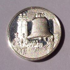 FRANKLIN STERLING SILVER Mini Ingot: 1926 The LIBERTY BELL ARCHWAY Uncirculated
