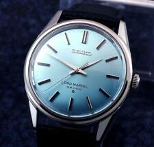 Excellent SEIKO LORD MARVEL 36000BPH  Manual Winding Sky Blue Dial  /  5740-8000