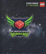 LEGO MASTER BUILDER ACADEMY DESIGNER HANDBOOK KIT 1 SPACE DESIGNER