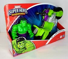 "Super Hero Adventures Playskool Heroes Marvel Hulk Smash Tank 5"" Figure..."