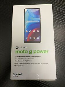 Motorola Moto G Power (2021) - 64GB - Flash Gray (Cricket) - Brand New
