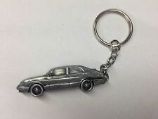 Saab 900 Saloon ref213 Pewter Effect Car Emblem On a SPLIT RING keyring