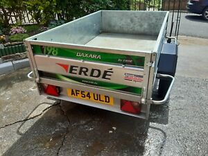 Erde Daxara 198 Trailer with cover