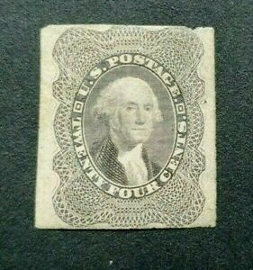 CLASSIC IMPERF 24 CENTS VF/FINE MLH UNITED STATES USA US B312.25
