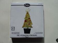 Sizzix Bigz Die Albero di Natale Look A Strati Nuovo con confezione * *