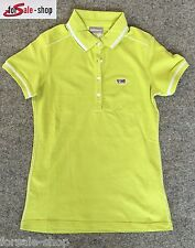 Napapijri camiseta polo camisa señora T-Shirt manzana verde 6 talla L