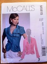 McCall, McCall's, Sewing, Pattern, M5815, Size 4, 6, 8, 10,12,