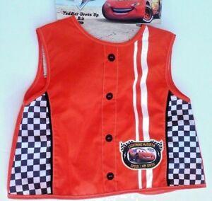 Lightning McQueen boy's sleeveless bib