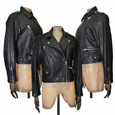 Topshop Zip Waist Length Leather Coats & Jackets for Women
