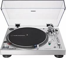 Audio-Technica 3-Speed Direct Drive Stereo Turntable - Silver
