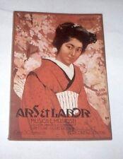 Rivista Musica e Musicisti - Ars & Labor - n° 5 - 1911 EM