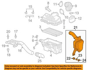 Chevrolet GM OEM 13-15 Spark Air Intake-Lower Resonator 96910371