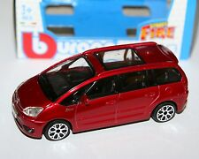 Burago - CITROEN C4 PICASSO 2011 (Red) - 'Street Fire' Model Scale 1:43