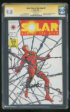 Solar Man Of The Atom #7 Signed by Jim Shooter* SS 1992 CGC 9.8 Wht Pgs