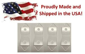 4PK Clear Switch Rocker Cover Guard Keep Light Switch ON Off protects your light