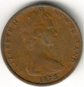 New Zealand - 1c -1975 - #1