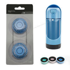 2pcs Healthy Travel Pet Dog Waterer Bottle Replacement Filters,No Water Bottle