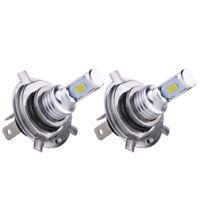 Pair 35W 4000LM 6000K High Low Beam Bright White H4 9003 HB2 LED Fog Light Bulbs