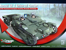 Mirage 355027 1/35 Renault UE 2 Universal Carrier Carrier with Track, SCALE 1/35