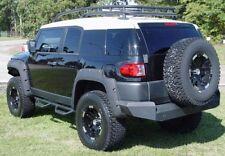 """SmittyBilt Black 3"""" Wheel To Wheel Nerf Step Bars Fit Toyota 06-14 FJ Cruiser"""